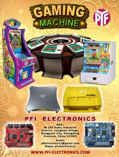 ARCADE GAME MACHINE  wwwpfielectronicscom - Imagen 1